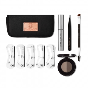 ANASTASIA BEVERLY HILLS BROW KIT ZESTAW DARK BROWN