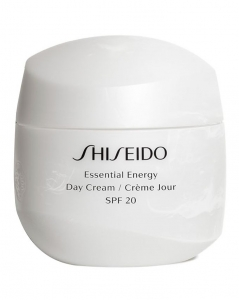 SHISEIDO ESSENTIAL ENERGY DAY CREAM SPF 20 KREM NAWILŻAJĄCY DO TWARZY 50ml