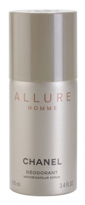 CHANEL ALLURE HOMME DEODORANT FOR MEN DEZODORANT W SPRAYU DLA MĘŻCZYZN 100ml