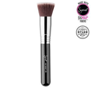 SIGMA BEAUTY FLAT KABUKI BRUSH PĘDZEL FLAT TOP DO PODKŁADU F80