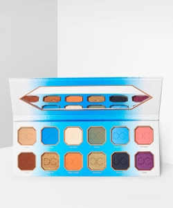 DOMINIQUE RUSTIC GLAM EYESHADOW PALETTE PALETA 12 CIENI DO POWIEK