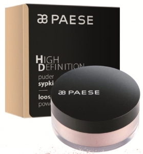 PAESE HD HIGH DEFINITION PUDER SYPKI BEZBARWNY