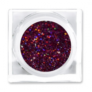 LIT COSMETICS COLOURS EYESHADOW GLITTER JAR HEARTBREAKER