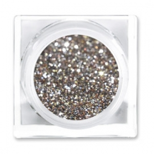 LIT COSMETICS COLOURS EYESHADOW GLITTER JAR  HEAVY METAL