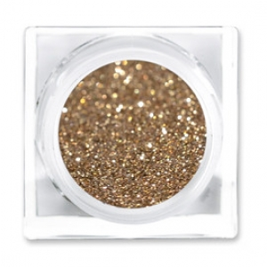 LIT COSMETICS COLOURS EYESHADOW GLITTER JAR HOT CHOCOLATE