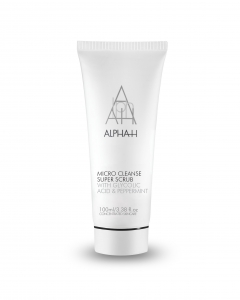 ALPHA-H MICRO CLEANSE SUPER SCRUB WITH GLYCOLIC ACID & PEPPERMINT PEELING PEELING DROBNOZIARNISTY