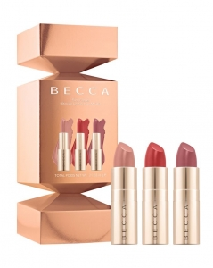 BECCA PARTY POPPER ULTIMATE LIPSTICK LOVE MINI KIT ZESTAW POMADEK DO UST