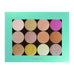 NABLA COSMETICS LIBERTY TWELVE CUSTOMIZABLE PALETTE PUSTA PALETA NA 12 CIENI MIĘTOWA