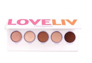 FLORENCE BY MILLS LOVE LIV EYESHADOW PALETTE PALETA 5 CIENI DO POWIEK