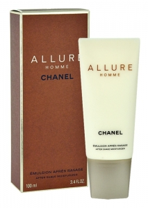 CHANEL ALLURE HOMME LOTION FOR MEN BALSAM PO GOLENIU DLA MĘŻCZYZN 100ml