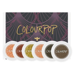 COLOURPOP EYESHADOW BOX ZESTAW CIENI LOVE A FLARE