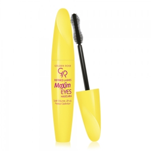 GOLDEN ROSE MAXIM EYES MASCARA TUSZ DO RZĘS WYDŁUŻAJĄCY MAXIM EYES