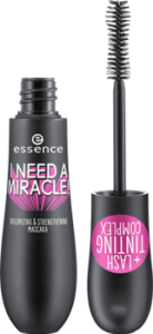 ESSENCE I NEED A MIRACLE! VOLUMIZING&STRENGTHENING MASCARA POGRUBIAJĄCO-WZMACNIAJACY TUSZ DO RZĘS