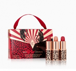 CHARLOTTE TILBURY MINI HOT LIPS CHARMS HOT LIPS 2 ZESTAW POMADEK DO UST