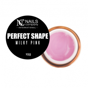 NAILS COMPANY ŻEL DO PAZNOKCI PERFECT SHAPE - MILKY PINK