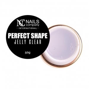 NAILS COMPANY PERFECT SHAPE ŻEL DO PAZNOKCI - JELLY CLEAR 15G