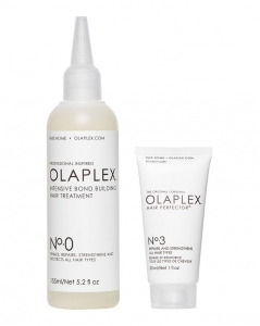 OLAPLEX No. 0 INTENSIVE BOND BUILDING HAIR TREATMENT KIT - ZESTAW DO ODBUDOWY WŁOSÓW