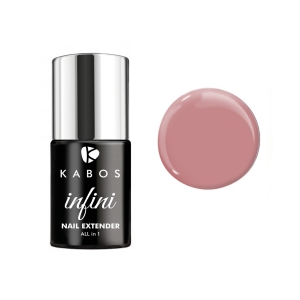 KABOS INFINI HYBRYDA ALL IN 1 NAIL EXTENDER COVER PINK 8ML