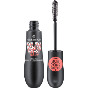 ESSENCE BYE BYE PANDA EYES! SMUDGE-PROOF VOLUMIZING AND DEFINING MASCARA TUSZ DO RZĘS
