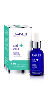 BANDI MEDICAL ANTI-ACNE PEELING KWASOWY ANTYTRĄDZIKOWY 30ml