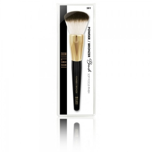 MILANI COSMETICS BRUSH POWDER BRONZER PĘDZEL DO PUDRU I BRONZERA