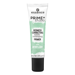 ESSENCE PRIME + STUDIO REDNESS CORRECTING + PORE MINIMIZING PRIMER BAZA