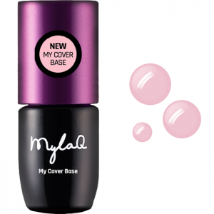 MYLAQ GEL POLISH UV LED BAZA DO LAKIERÓW HYBRYDOWYCH MY COVER BASE NATURAL PINK 5ML