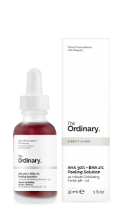 THE ORDINARY AHA 30% + BHA 2% PEELING SOLUTION PEELING KWASOWY AHA 30% + BHA 2%