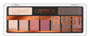 CATRICE THE SPICY RUST COLLECTION PALETTE EYESHADOW PALETA CIENI DO POWIEK
