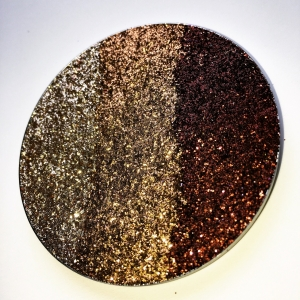 GLITTER INJECTIONS HUGE PRESSED GLITTERS CAPPUCCINO GLOW