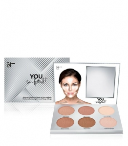 IT COSMETICS YOU SCULPTED!™ UNIVERSAL CONTOURING PALETTE FOR FACE AND BODY PALETA DO KONTUROWANIA