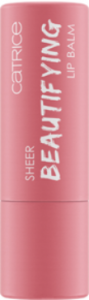 CATRICE SHEER BEAUTIFYING LIP BALM BALSAM DO UST