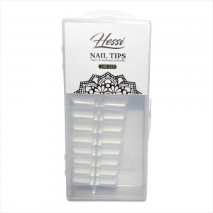 HESSI NAILS TIPSY CLEAR 240 SZT