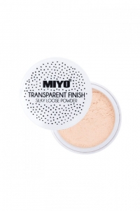 MIYO TRANSPARENT FINISH LOOSE POWDER TRANSPARENTNY SYPKI PUDER