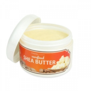 COASTAL SCENTS UNRAFINED SHEA BUTTER MASŁO SHEA 10oz