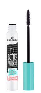 ESSENCE YOU BETTER WORK! LENGTH DEFINITION MASCARA TUSZ DO RZĘS