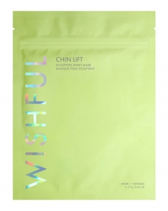 WISHFUL CHIN LIFT SCULPTING SHEET MASK - MASECZKA MODELUJĄCA PODBRÓDEK
