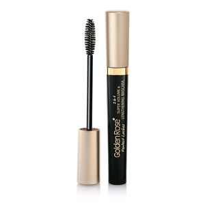 GOLDEN ROSE PERFECT LASHES 2 IN 1 SUPER VOLUME LENGTHENINIG WYDŁUŻAJĄCO POGRUBIAJĄCY TUSZ DO RZĘS