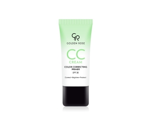 GOLDEN ROSE CREAM COLOR CORRECTING PRIMER GREEN KORYGUJĄCY KREM CC - ZIELONY