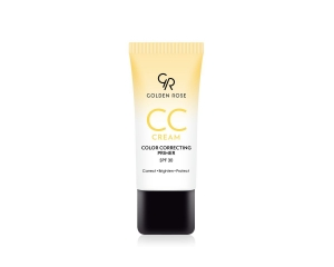 GOLDEN ROSE CREAM COLOR CORRECTING PRIMER YELLOW KORYGUJĄCY KREM CC - ŻÓŁTY